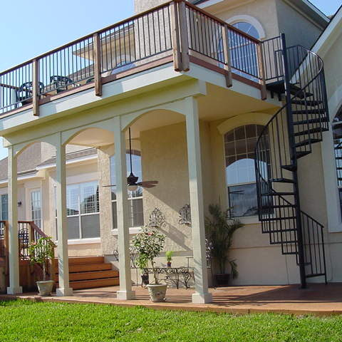 Composite Decking for Balconies